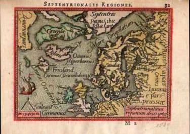SCANDINAVIA GREENLAND ICELAND SEPTENTRIONALES REGIONES