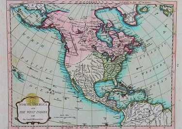 NORTH AMERICA AND THE WEST INDIES WITH THELATEST DISCOVERIES