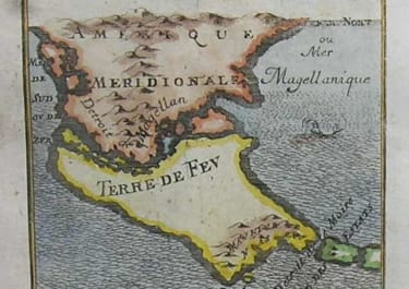 SOUTH AMERICA STRAIGHTS OF MAGELLAN Dt DE MAGELLAN