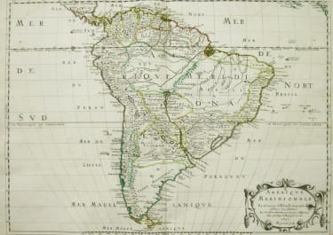 SOUTH AMERICA AMERIQUE MERIDIONALE