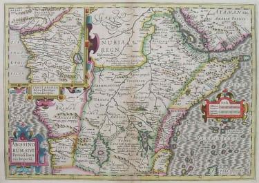 EAST AFRICA ABISSINORUM SIVE PRETIOSI IOANNIS IMPERIU