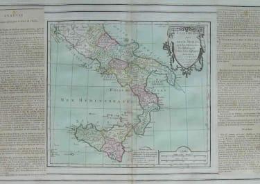 SOUTH ITALY SICILY ETATS DU ROI DES DEUX SICILES
