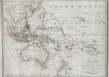AUSTRALIA NEW ZEALAND OCEANIE OU AUSTRALASIE ET POLYNESIE