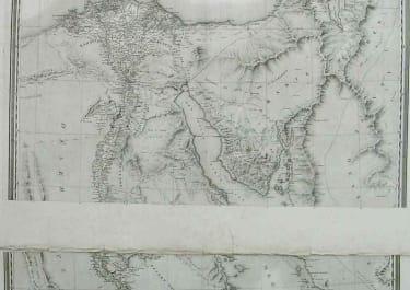 EGYPT CARTE GEOGRAPHIQUE DE L'EGYPT