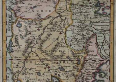 ETHIOPIA SUDAN PARTIE DE LA HAUTE AETHIOPIE