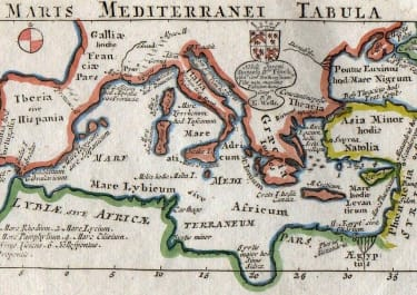 MEDITERRANEAN MARIS MEDITERRANEI TABULA