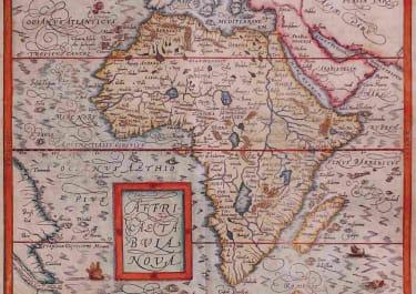 AFRICA AFFRICA TABULA NOVA