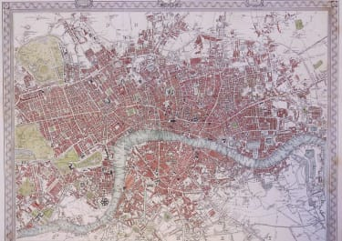 LONDON A PLAN OF LONDON AND ITS ENVIRONS