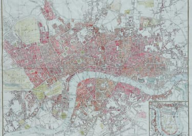 LONDON LEIGH'S NEW PLAN OF LONDON