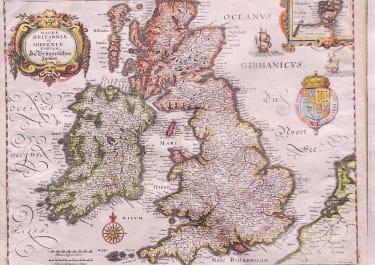 BRITISH ISLES MAGNAE BRITANNIAE