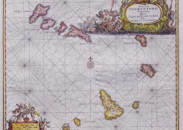 CAP VERDE ISLANDS INSULAE PROMONTORII VIRIDIS