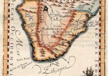 SOUTH AFRICA MONOMOTAPA ET LA CAFRERIE