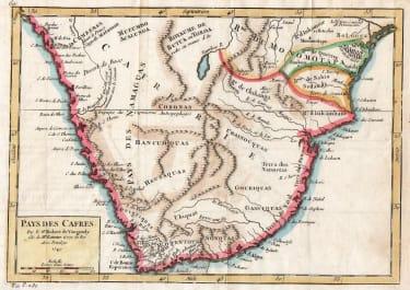 AFRICA SOUTHERN PAS DES CAFRES