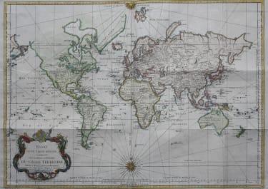 WORLD ESSAY D'UNE CARTE REDUITE CONTENANTLES PARTIES CONNUEES DE GLOBE TERRESTE