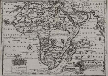AFRICA L'AFRIQUE DRESSEE SELON LES DERMIERS RELAT ET SUIVANT LES NOUVELLES DECOUVERTES
