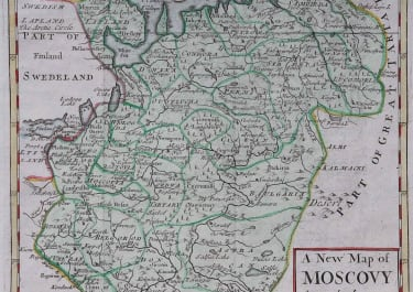 RUSSIA A NEW MAP OF MOSCOVY