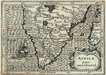 SOUTH AFRICA , AFRICAE PARS MERIDIONAL SOLSD