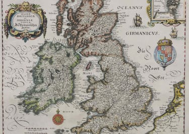 BRITISH ISLES MAGNAE BRITANNIAE ET HIBERNIAE TABULAE