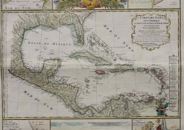 WEST INDIES, FLORIDA, MEXICO MAPPA GEOGRAPHICA COMPLECTENS INDIAE OCCIDENTALIS