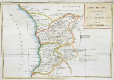 CONGO CARTE DE CONGO