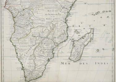 SOUTHERN AFRICA CARTE DU CONGO ET DES PAYS DES CAFRES
