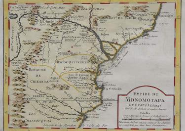 MOZAMBIQUE COAST EMPIRE DU MONOMOTAPA
