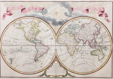 WORLD  MAPPEMONDE