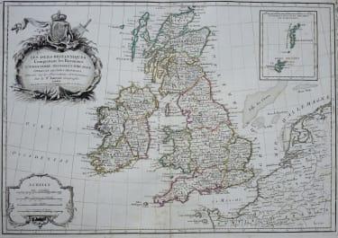 BRITISH ISLES LES ISLES BRITANNIQUES
