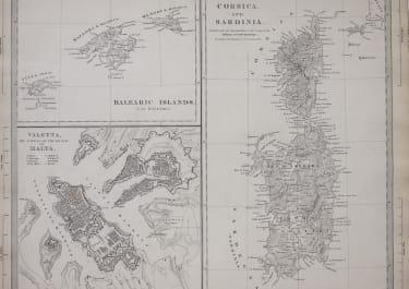 VALETTA MALTA    ISLANDS OF THE MEDITERRANEAN