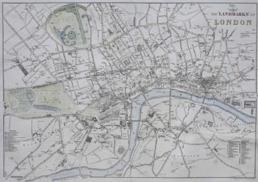 "THE "" LANDMARKS"" OF LONDON"