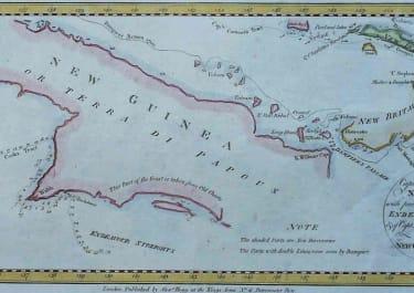 PAPUA NEW GUUINEA, NEW BRITAIN, NEW IRELAND