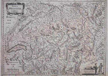 SWITZERLAND MERCATOR / JANSSONIUS