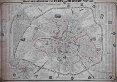 PARIS   PLAN COMPLET
