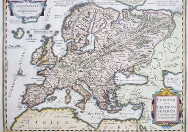 EUROPE  CELTIC BY ORTELIUS