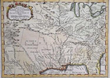 COLONIAL NORTH AMERICA  LOUISIANA FLORIDA