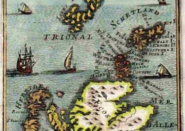 SCOTLAND SHETLAND ISLANDS, ORKNEY ,  FAROE & HEBRIDES