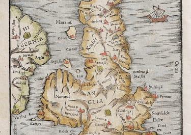 BRITISH ISLES  MUNSTER PTOLOMAIC