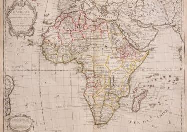 AFRICA   BY DE L'ISLE