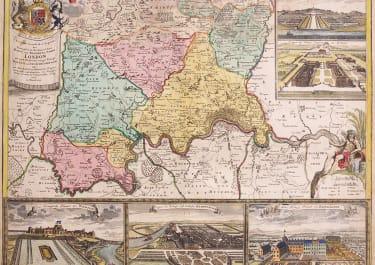 LONDON MAP & VIEWS