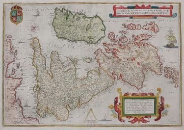BRITISH ISLES ORTELIUS