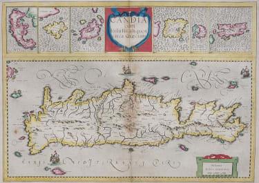 CRETE   ISLANDS CORFU SANTORINI  KARPATHOS..