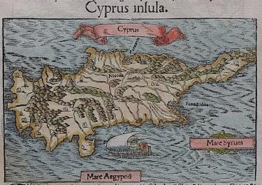 CYPRUS  MUNSTER  1550c