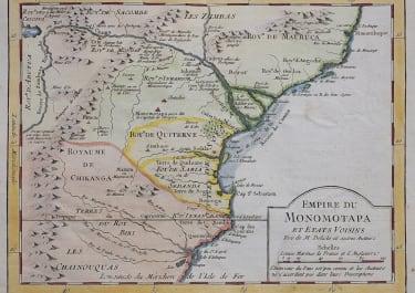 SOUTH EAST AFRICA  MOZAMBIQUE  ZAMBEZE
