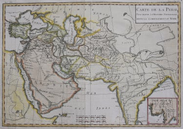 PERSIA IRAN ARABIA INDIA