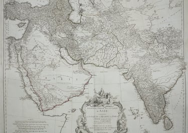 MIDDLE EAST INDIA ARABIA AND TIBET
