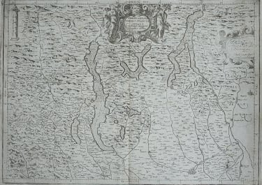 MAGINI  MAP OF MILAN AND THE LAKES FOLIO