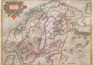 MERCATOR'S MAP OF SCANDINAVIA