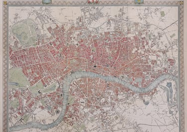 CREIGHTON'S MAP OF LONDON