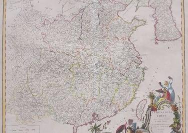 FOLIO MAP OF CHINA