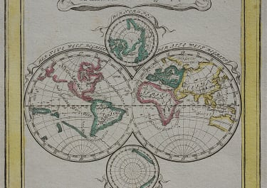 WORLD  SMALL WORLD BY BODENEHR  CALIFORNIA ISLAND